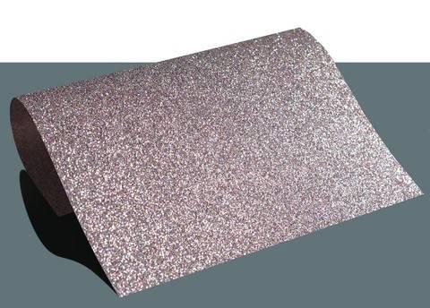 Flexfolie glitzernd zum Plotten confetti pink: Extra Bling - DIN A4 im Makerist Materialshop