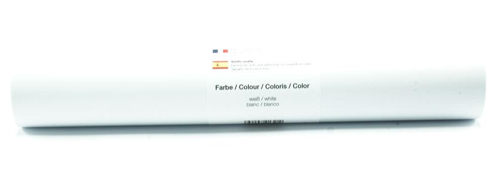 Vinylfolie matt weiß - 30,5 cm x 3 m im Makerist Materialshop - Bild 1
