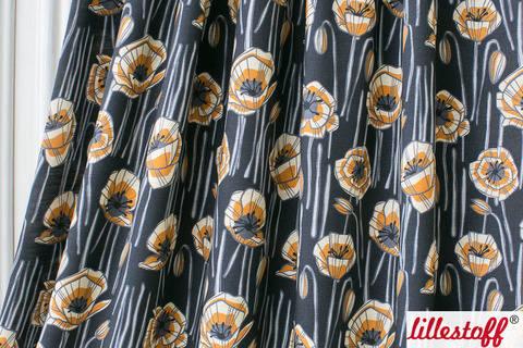 Lillestoff Slub Jersey dunkelblau: Vallmo - 160 cm im Makerist Materialshop