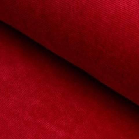 Cord-Jersey Conni von Hanabi - rot im Makerist Materialshop