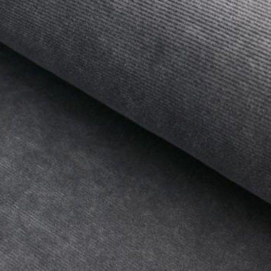Cord-Jersey Conni von Hanabi - grau im Makerist Materialshop - Bild 1