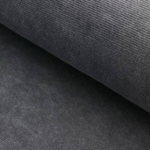 Cord-Jersey Conni von Hanabi - grau im Makerist Materialshop