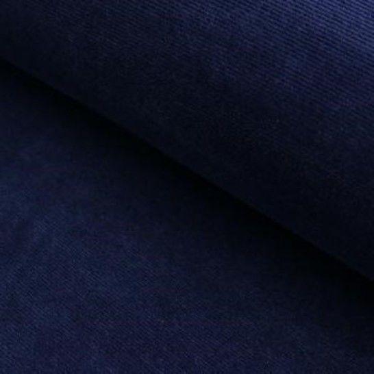 Cord-Jersey Conni von Hanabi - nachtblau im Makerist Materialshop - Bild 1