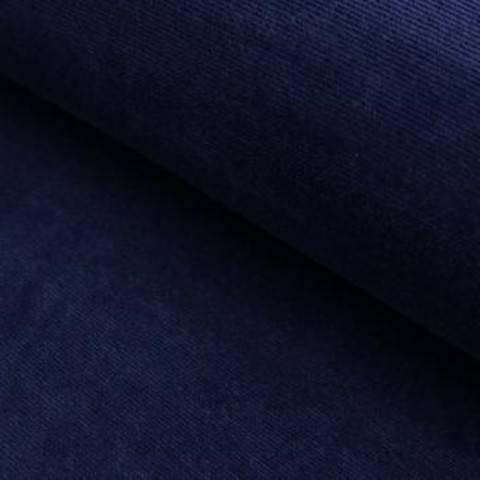 Cord-Jersey Conni von Hanabi - nachtblau im Makerist Materialshop