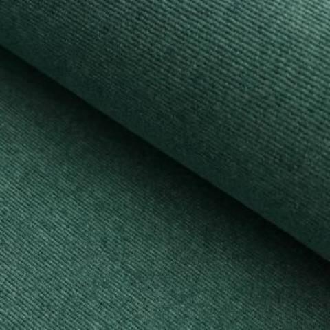 Cord-Jersey Conni Melange - grün im Makerist Materialshop