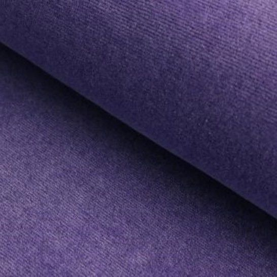 Cord-Jersey Conni Melange - lila im Makerist Materialshop - Bild 1