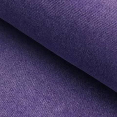 Cord-Jersey Conni Melange - lila im Makerist Materialshop