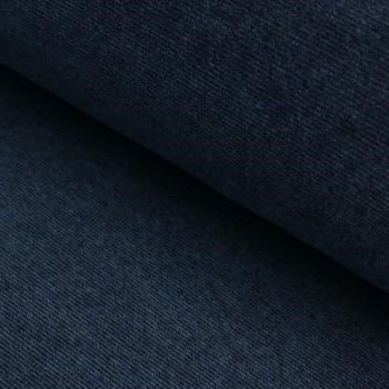 Cord-Jersey Conni Melange - jeansblau im Makerist Materialshop - Bild 1