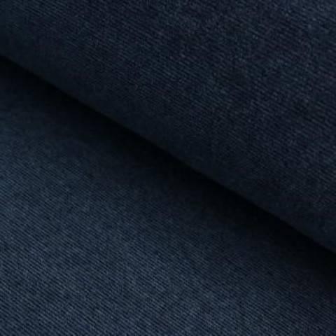 Cord-Jersey Conni Melange - jeansblau im Makerist Materialshop