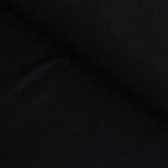 Bambusjersey schwarz uni - 160 cm im Makerist Materialshop - Bild 1