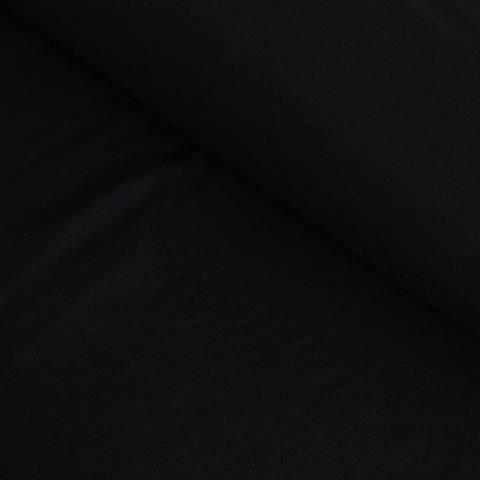 Bambusjersey schwarz uni - 160 cm im Makerist Materialshop