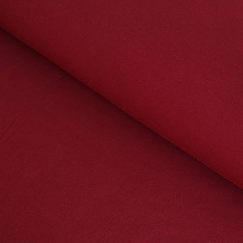 Bambusjersey weinrot uni - 160 cm im Makerist Materialshop