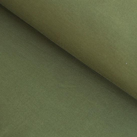 Bambusjersey olivgrün uni - 160 cm im Makerist Materialshop - Bild 1