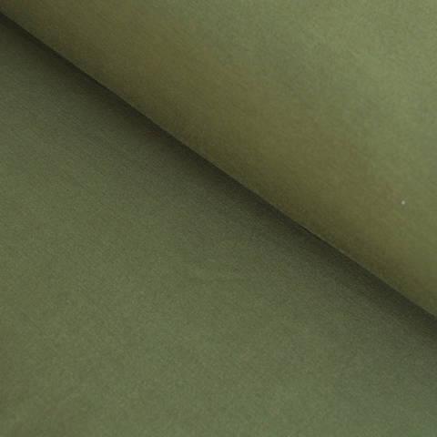 Bambusjersey olivgrün uni - 160 cm im Makerist Materialshop