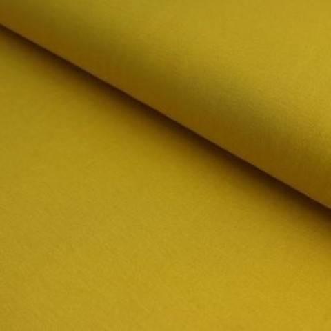 Viskosejersey senf uni von Hanabi - 150 cm im Makerist Materialshop