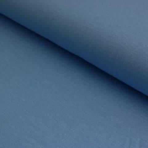 Viskosejersey bleu uni von Hanabi - 150 cm im Makerist Materialshop