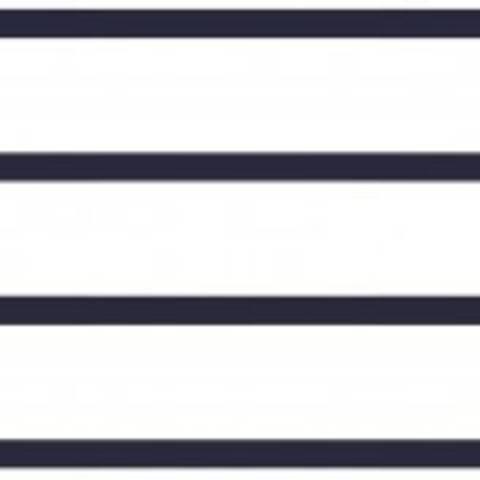 Viskosejersey weiß marine von Hanabi: Stripe - 150 cm im Makerist Materialshop