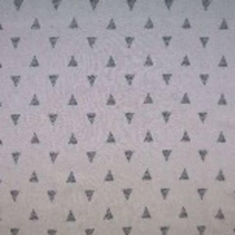 Viskose Leinen ecru von Hanabi: Triangles - 135 cm  im Makerist Materialshop
