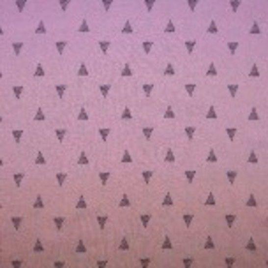 Viskose Leinen rosa von Hanabi: Triangles - 135 cm  im Makerist Materialshop - Bild 1