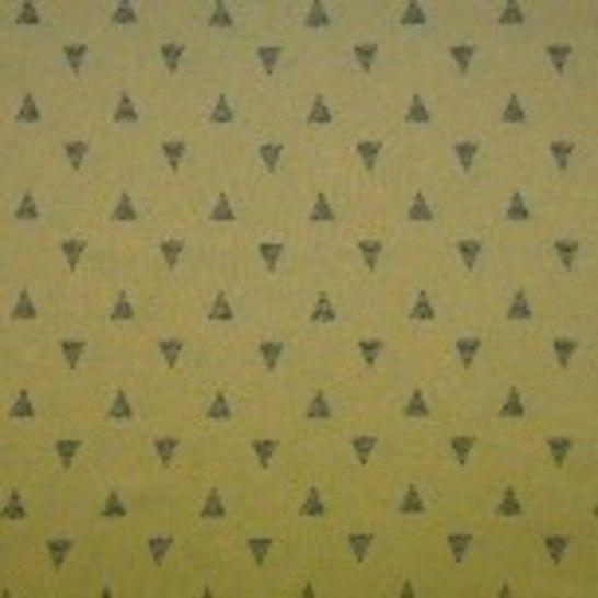Viskose Leinen gelb von Hanabi: Triangles - 135 cm  im Makerist Materialshop - Bild 1