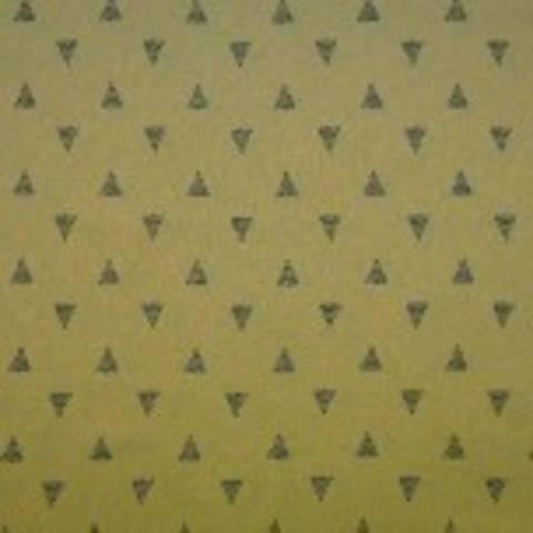 Viskose Leinen gelb von Hanabi: Triangles - 135 cm  im Makerist Materialshop