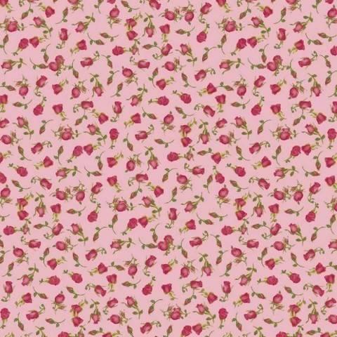 Radiance Viskose pink von Hanabi: Roses - 140 cm im Makerist Materialshop