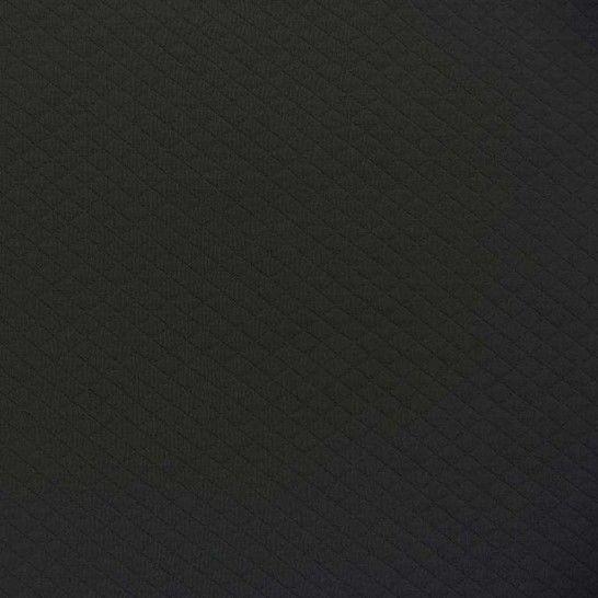 Steppstoff dunkelgrau melange von Hanabi im Makerist Materialshop - Bild 1