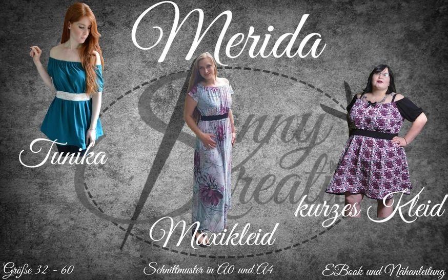 Gedrucktes Schnittmuster für: Merida - EBook und Nähanleitung Gr.32-60 im Makerist Materialshop - Bild 1