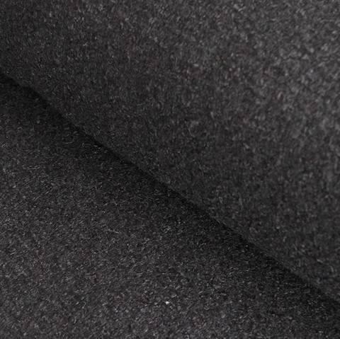Mantelstoff Woll-Mischgewebe schwarz - 142 cm im Makerist Materialshop