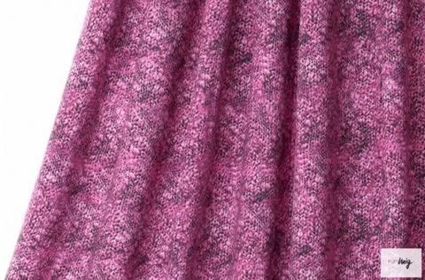 Lillestoff Modalsweat rosa: Strickmaschen - 150 cm im Makerist Materialshop