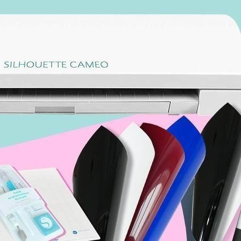 XXL Silhouette Cameo 3 Plotter Set inkl. Bügelfolien im Makerist Materialshop