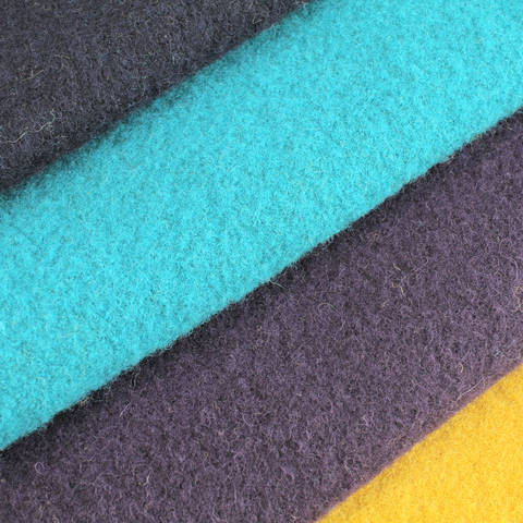 Walkstoff uni: Boiled Wool - 140 cm im Makerist Materialshop