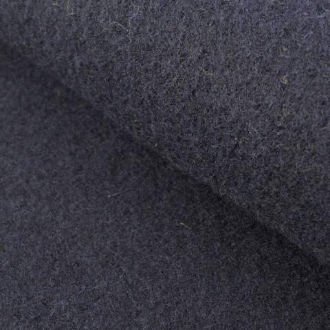 Walkstoff uni navy: Boiled Wool - 140 cm im Makerist Materialshop