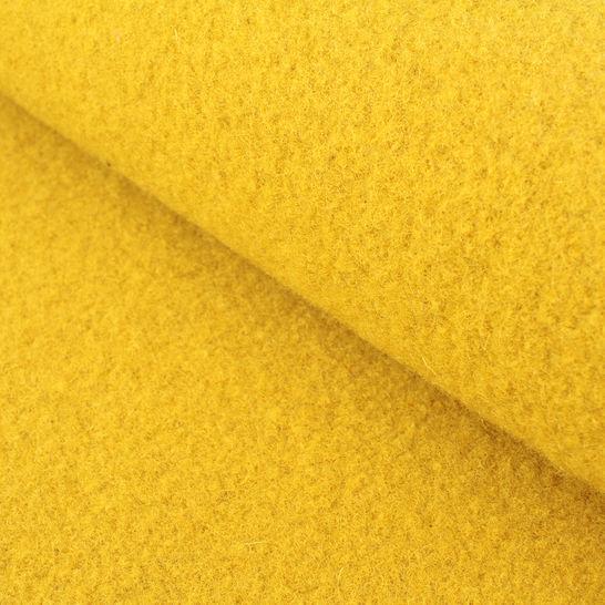 Walkstoff uni ocker: Boiled Wool - 140 cm im Makerist Materialshop - Bild 1