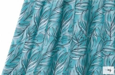 Lillestoff Modalstoff blau-türkis: Mare - 150 cm im Makerist Materialshop