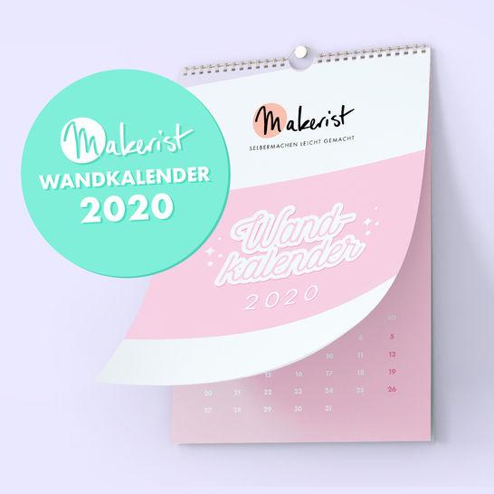 Monatswandkalender 2020 von Makerist - DIN A3  im Makerist Materialshop - Bild 1