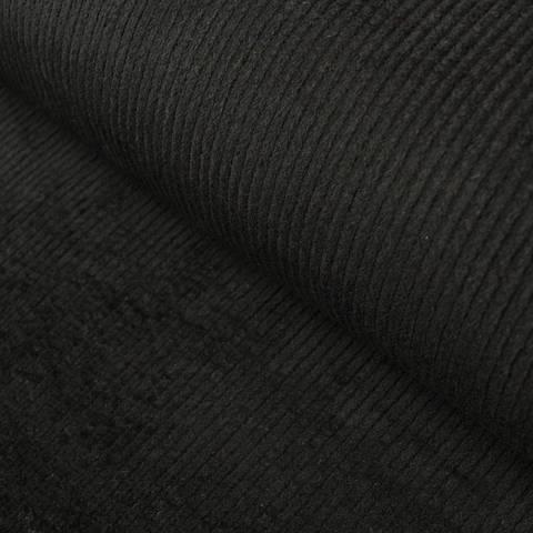 Genuacord elastisch und vorgewaschen schwarz - 141 cm im Makerist Materialshop