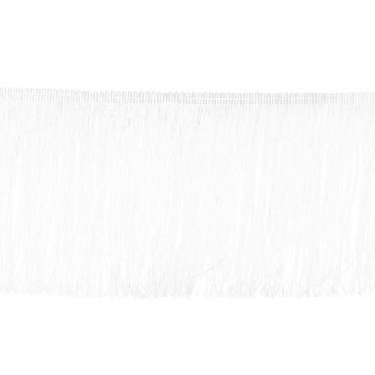 Fransen weiß - 15 cm im Makerist Materialshop - Bild 1