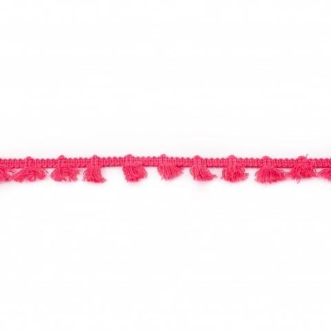 Quastenborte pink  im Makerist Materialshop
