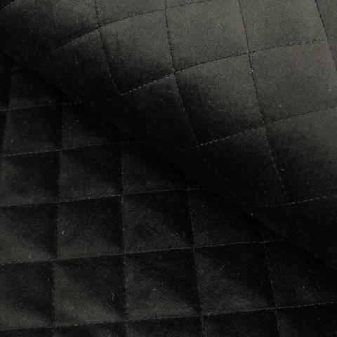 Steppstoff samtig schwarz - 150 cm im Makerist Materialshop
