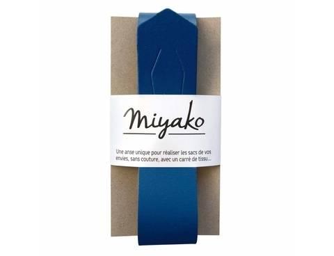 Miyako Taschengriff: Blau im Makerist Materialshop