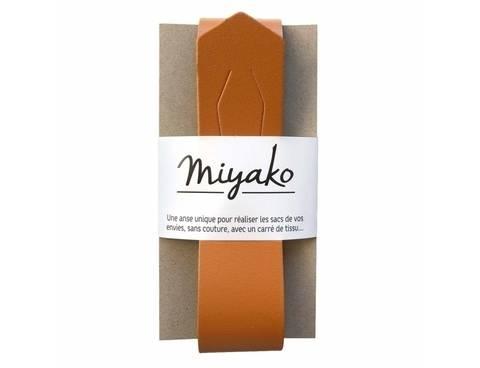 Miyako Taschengriff: Hellbraun im Makerist Materialshop