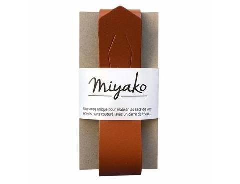 Miyako Taschengriff: Braun im Makerist Materialshop