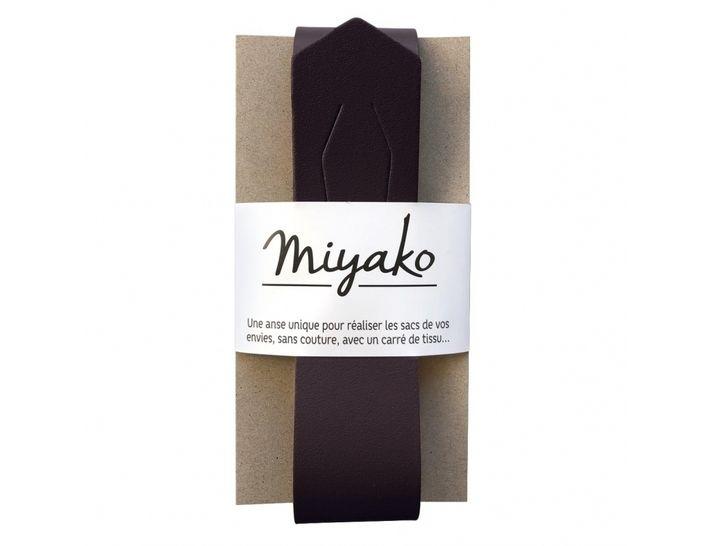 Miyako Taschengriff: schwarz im Makerist Materialshop - Bild 1