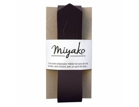 Miyako Taschengriff: schwarz im Makerist Materialshop
