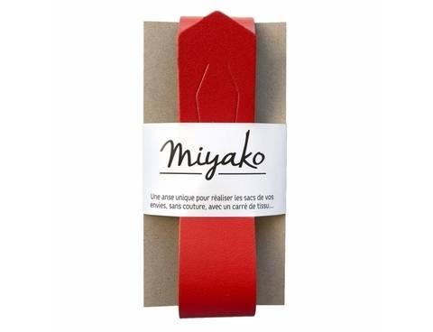 Miyako Taschengriff: Rot im Makerist Materialshop