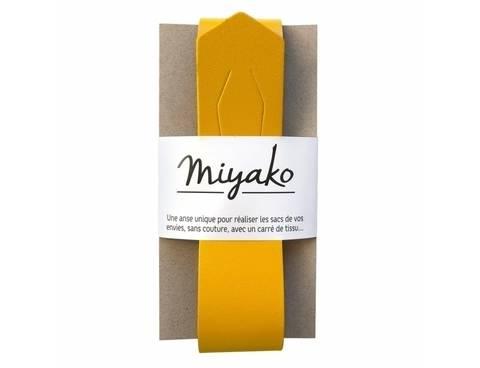 Miyako Taschengriff: Ocker im Makerist Materialshop