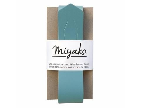 Miyako Taschengriff: Hellblau im Makerist Materialshop