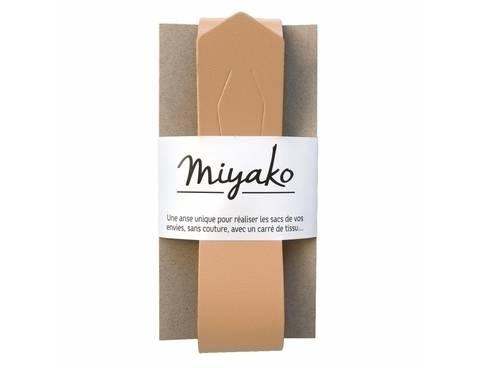 Miyako Taschengriff: Beige im Makerist Materialshop
