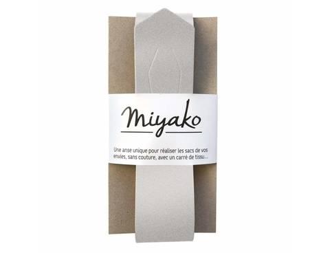 Miyako Taschengriff: Silber im Makerist Materialshop